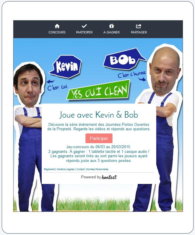 kevin-et-bob- facebook Monde de la propreté - La Manane, l'agence de com pédagogique crossmedia