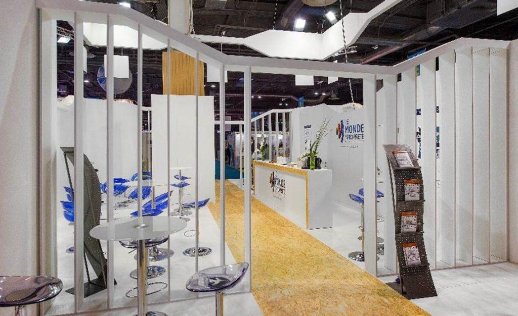 stand fep europropre - La Manane, agence de communication pédagogique crossmedia