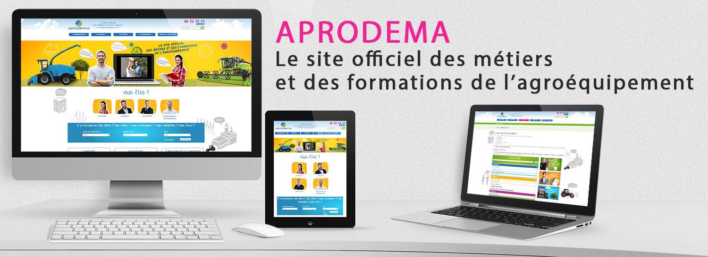 site web - Aprodema, association pour la promotion des métiers et des formations en Agroéquipement - La Manane