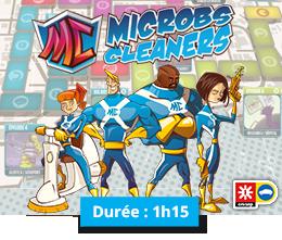 Conférence Microbs Cleaners - La Manane, agence de communication pédagogique crossmedia