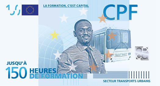 COMPTE PERSONNEL DE FORMATION - OPCA TS - BILLETS - LA MANANE AGENCE DE COMMUNICATION PEDAGOGIQUE CROSSMEDIA