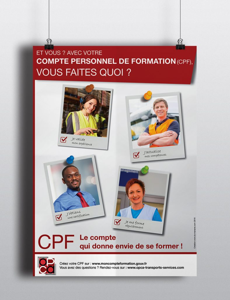 Affiche_CPF1- La Manane, agence de communication pédagogique crossmedia