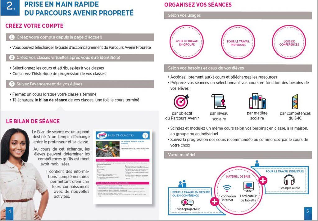 parcours avenir - prise en main rapide- La Manane, agence de communication pédagogique crossmedia