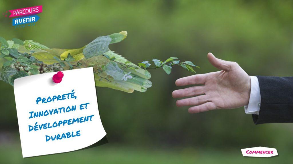 parcours avenir proprete - Propreté, innovation et développement durable - la manane, agence de communication pédagogique crossmedia