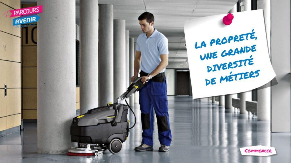 parcours avenir proprete - la proprete une grande diversité de métiers - la manane, agence de communication pédagogique crossmedia