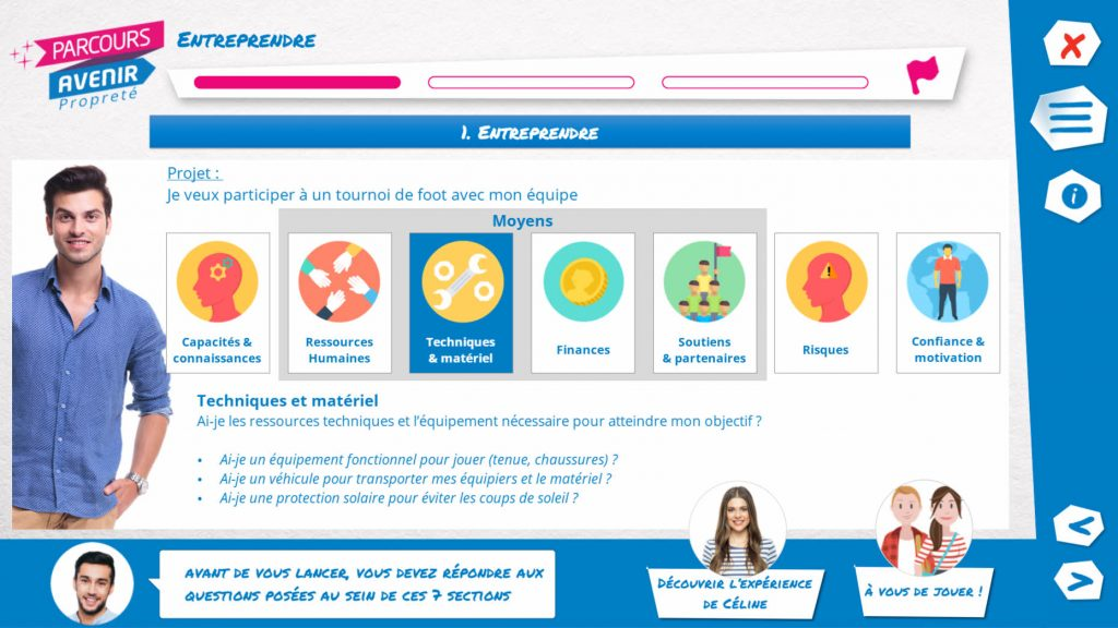 parcours_avenir proprete_ entreprendre- la_manane_agence de communication pedagogique crossmedia