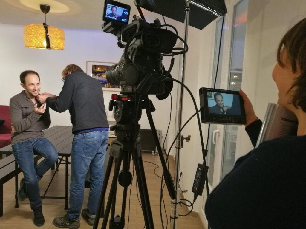 2er jour de tournage- Serieux, c'est quoi ton métier - adec transport - la manane, agence de communication pédagogique crossmedia