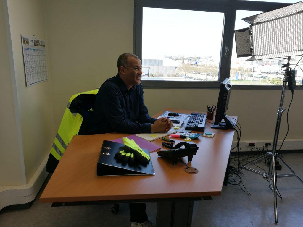 3eme jour de tournage- Serieux, c'est quoi ton métier - adec transport - la manane, agence de communication pédagogique crossmedia