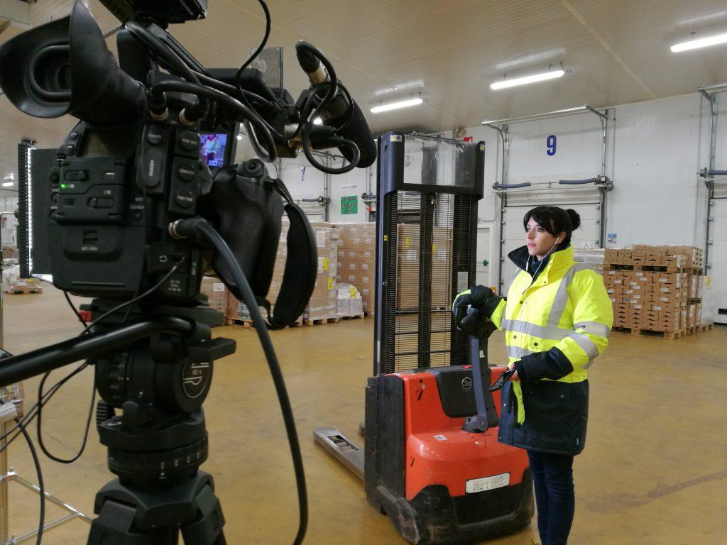 4eme jour de tournage- Serieux, c'est quoi ton métier - adec transport - la manane, agence de communication pédagogique crossmedia