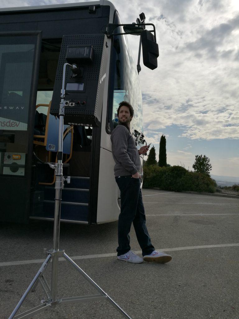 5eme jour de tournage- Serieux, c'est quoi ton métier - adec transport - la manane, agence de communication pédagogique crossmedia