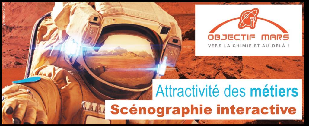 objectif mars france chimie - la manane agence de communication pedagogique crossmedia HEADER