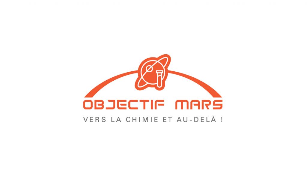 objectif mars france chimie- logo - la manane agence de communication pedagogique crossmedia