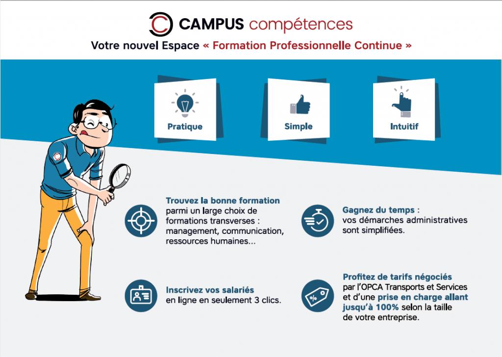 campus competences - la manane, agence de communication pédagogique crossmedia
