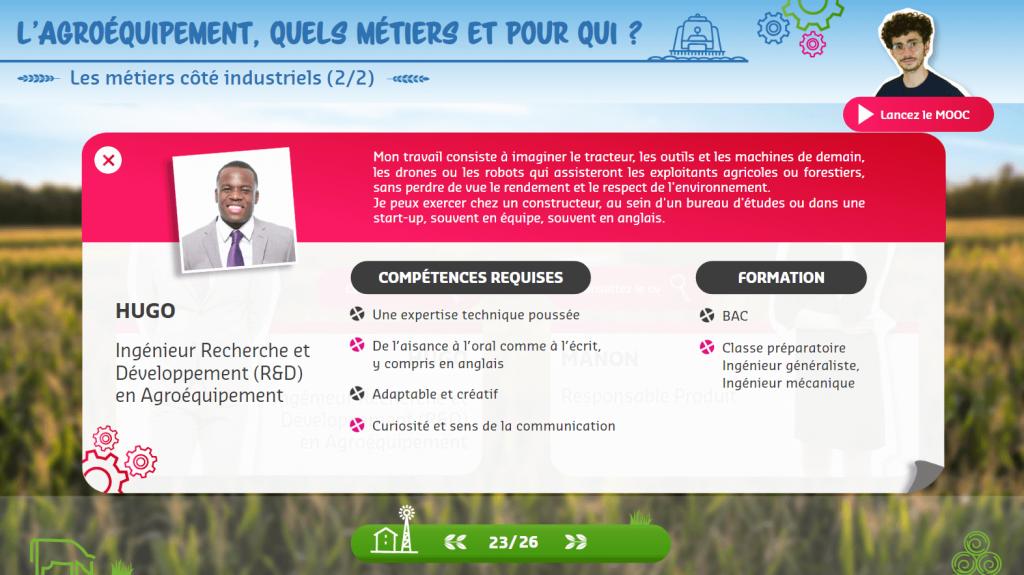 Agroéquipement - CV- la manane agence de communication pédagogique crossmedia