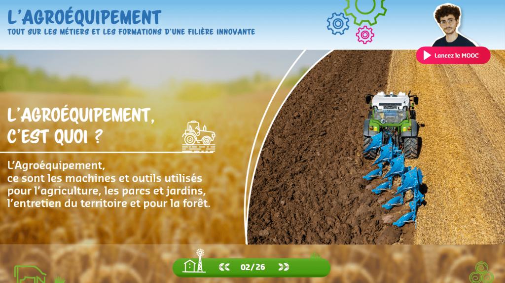 Agroéquipement - cest quoi - la manane agence de communication pédagogique crossmedia