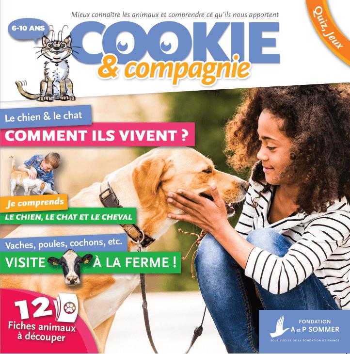 magazine- cookie et cie- couverture - La Manane, agence de communication pédagogique
