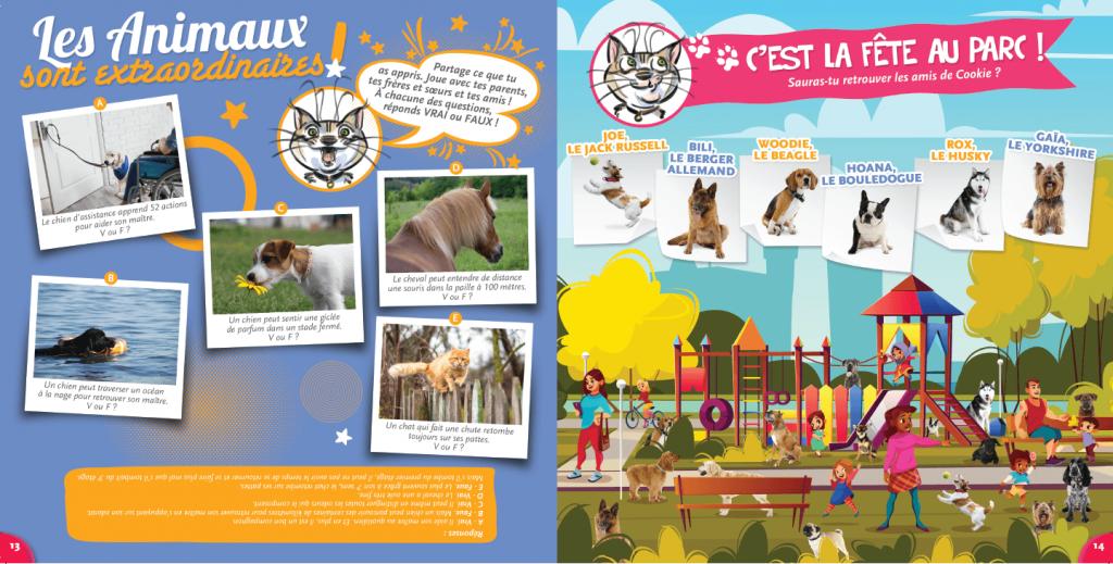 magazine- les animaux sont extraordinaires- La Manane, agence de communication pédagogique