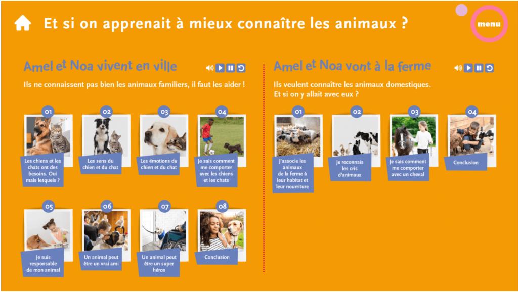 support- menu- La Manane, agence de communication pédagogique