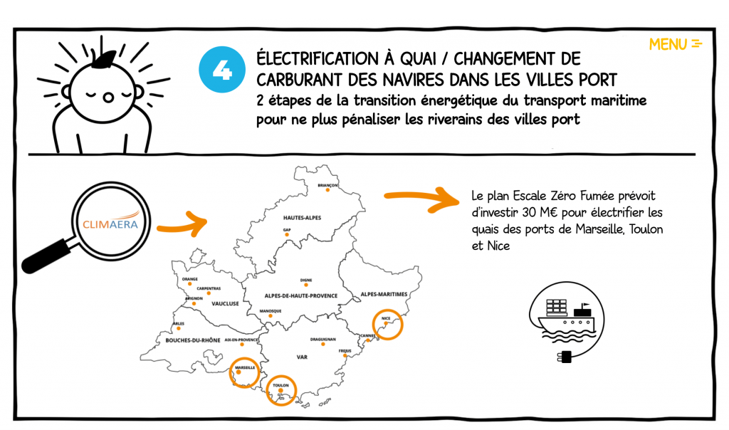 electrification à quai - la manane communication pédagogique crossmedia