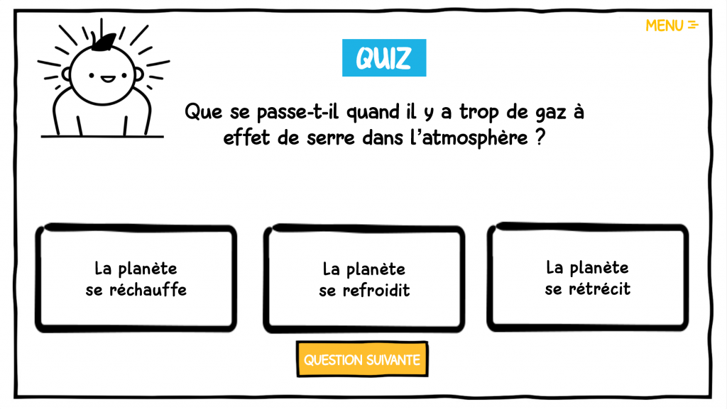 quiz - la manane communication pédagogique crossmedia
