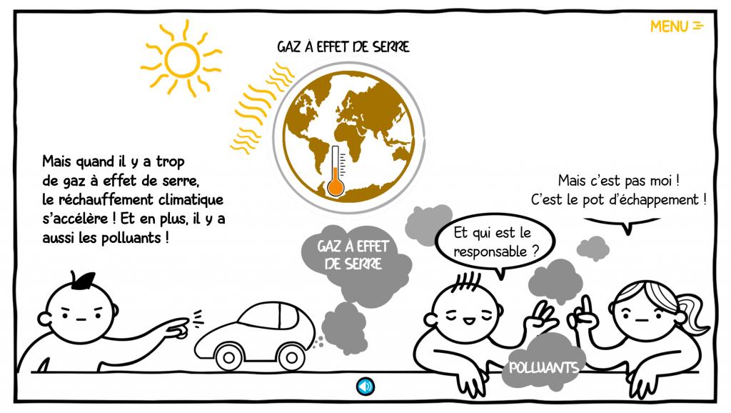 réchauffement climatique - la manane communication pédagogique crossmedia