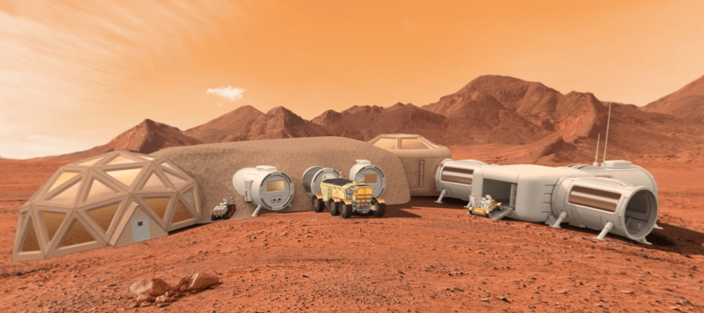 OBJECTIF MARS HABITAT - LA MANANE COM PEDAGO CROSSMEDIA