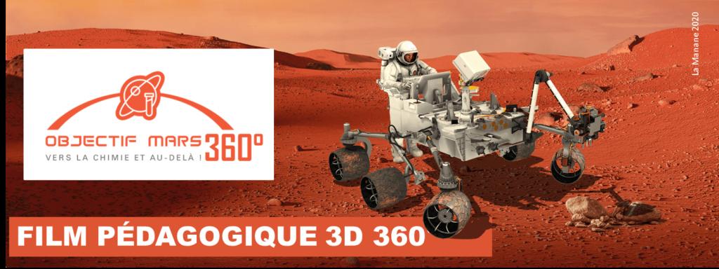 OBJECTIF MARS HEADER - LA MANANE COM PEDAGO CROSSMEDIA