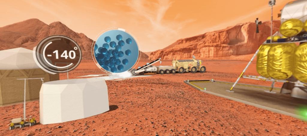 OBJECTIF MARS IMPRESSION 3D - LA MANANE COM PEDAGO CROSSMEDIA