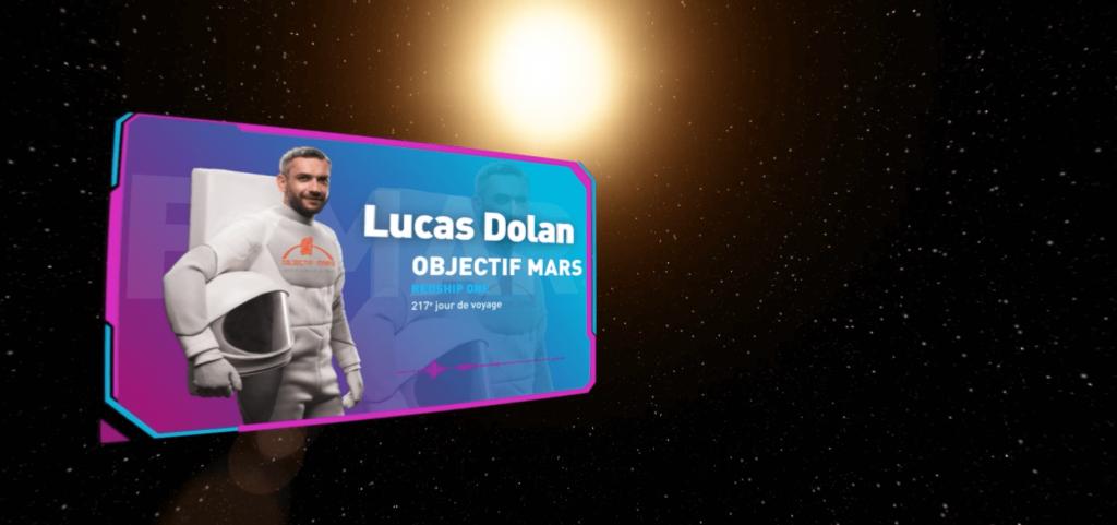 OBJECTIF MARS LUCAS DOLAN- LA MANANE COM PEDAGO CROSSMEDIA