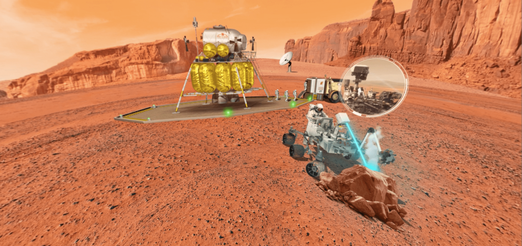 OBJECTIF MARS ROVER 2- LA MANANE COM PEDAGO CROSSMEDIA