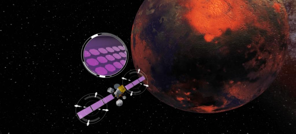 OBJECTIF MARS SATELITE- LA MANANE COM PEDAGO CROSSMEDIA