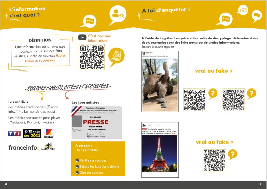 livret-fake news - la manane - agence de communiction pédagogique